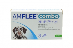 AMFLEE COMBO HOND LARGE 3X268MG. 20-40KG