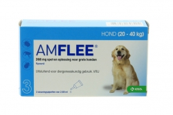 AMFLEE  HOND LARGE 3X268MG. 20-40KG.