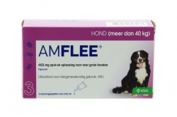 AMFLEE  HOND X-LARGE 3X402MG.>40KG.